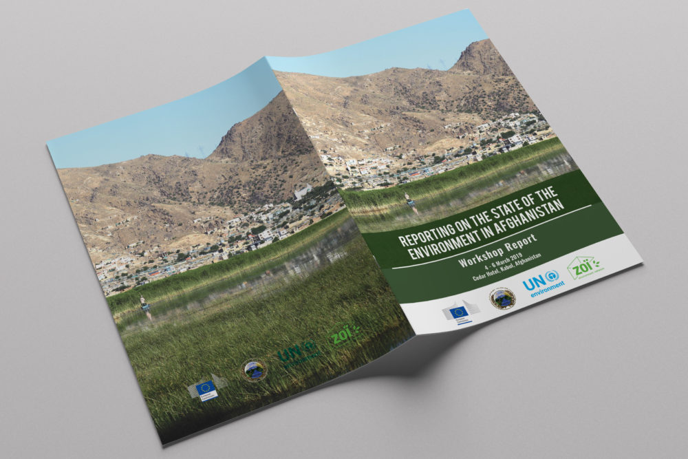 Reporting on the state of the environment in Afghanistan