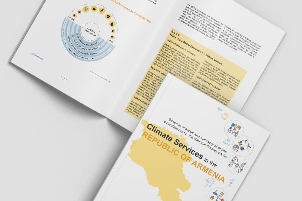National Framework for Climate Services for the Republic of Armenia