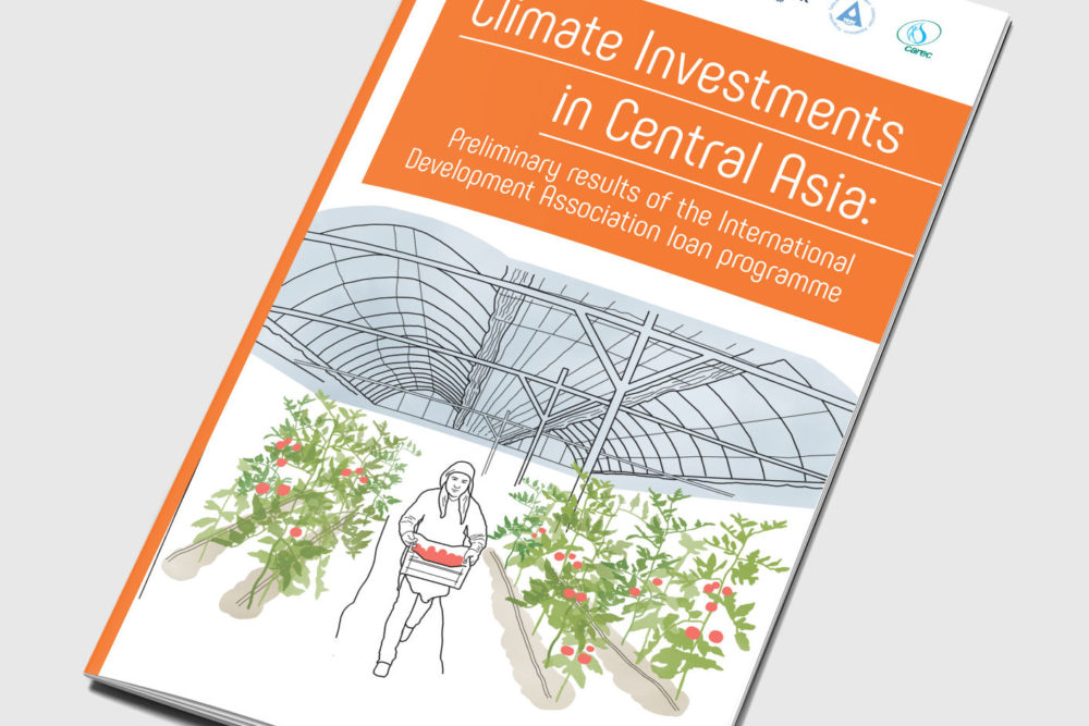 Climate Investments in Central Asia: Preliminary results of the International Development Association loan programme