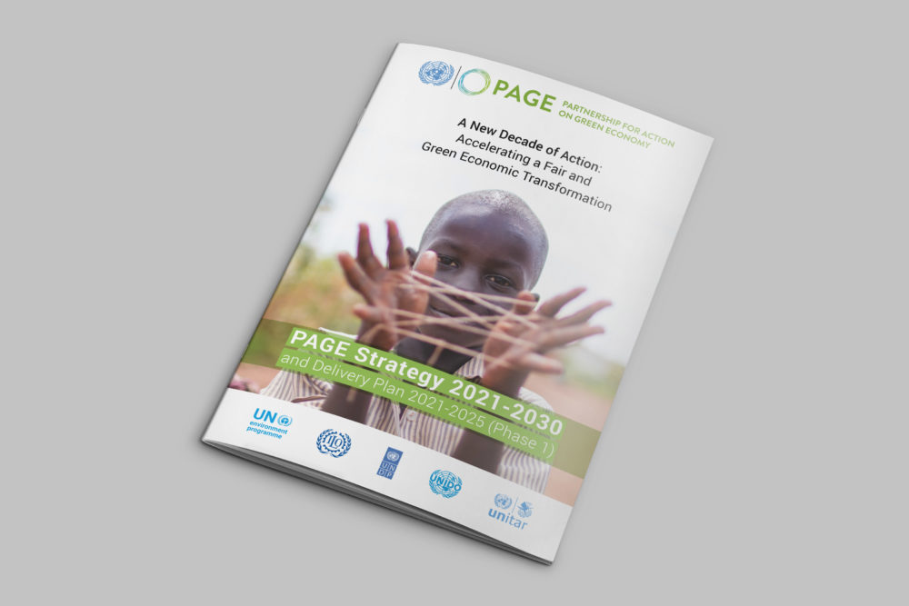 Partnership for Action on Green Economy – PAGE Strategy 2021-2030 and Delivery Plan
