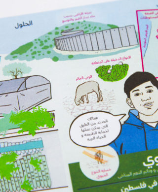 Communicating climate change to schools in Palestine