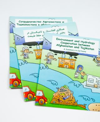 Environment and Hydrology Cooperation between Afghanistan and Tajikistan: A Summary in Cartoons