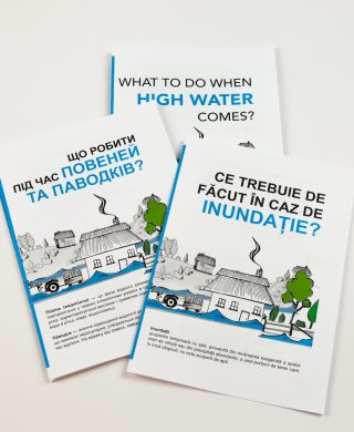 Dniester flood leaflets