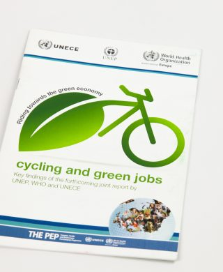 Cycling and Green Jobs: Key findings of the forthcoming joint report by UNEP, WHO and UNECE