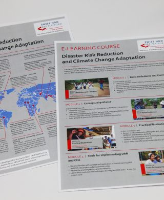 E-learning course: Disaster Risk Reduction and Climate Change Adaptation