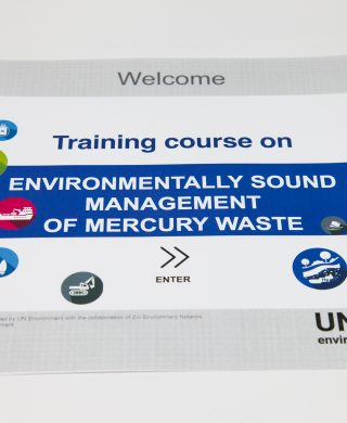 E-course on management of mercury waste