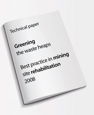 Technical paper: Greening the waste heaps – Best practice in mining site rehabilitation