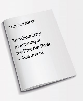 Technical paper: Transboundary monitoring of the Dniester River – Assessment