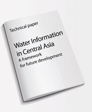 Technical paper: Water Information in Central Asia – A framework for future development