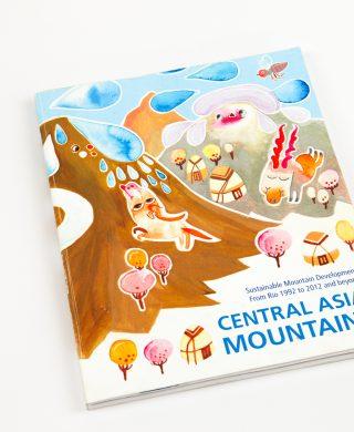 Central Asia Mountains