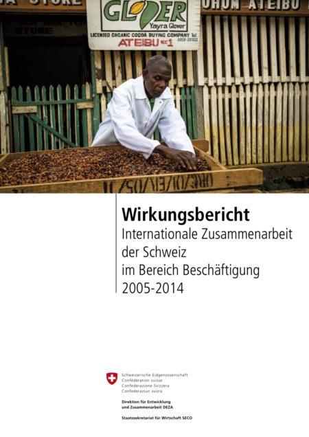 Report on Effectiveness: Swiss International Cooperation in the Field of Employment DE