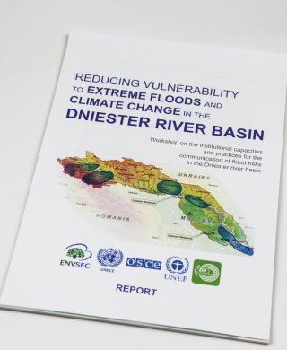 Reducing vulnerability to extreme floods and climate change in the Dniester river basin – Report