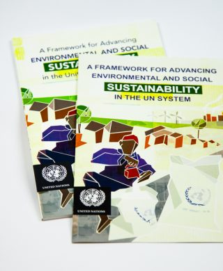 A Framework for Advancing ENVIRONMENTAL AND SOCIAL SUSTAINABILITY in the United Nations System