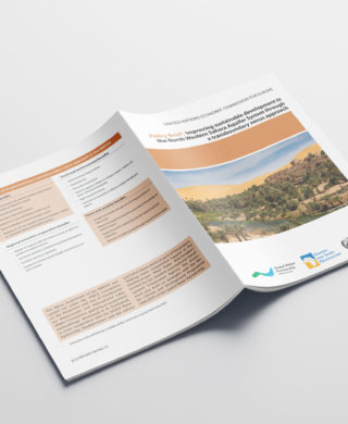 Policy brief: Improving sustainable development in the North Western Sahara Aquifer System through a transboundary nexus approach