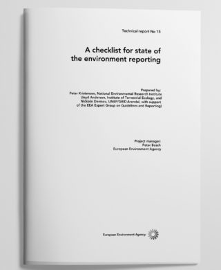 A checklist for state of the environment reporting