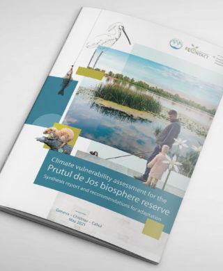 Climate vulnerability assessment for the Prutul de Jos (Lower Prut) Biosphere Reserve
